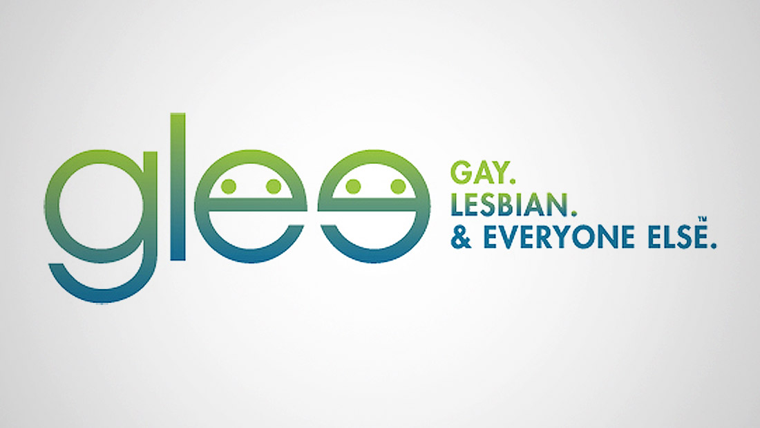 Glee.com Branding