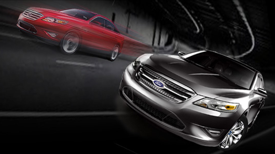 Ford Taurus microsite