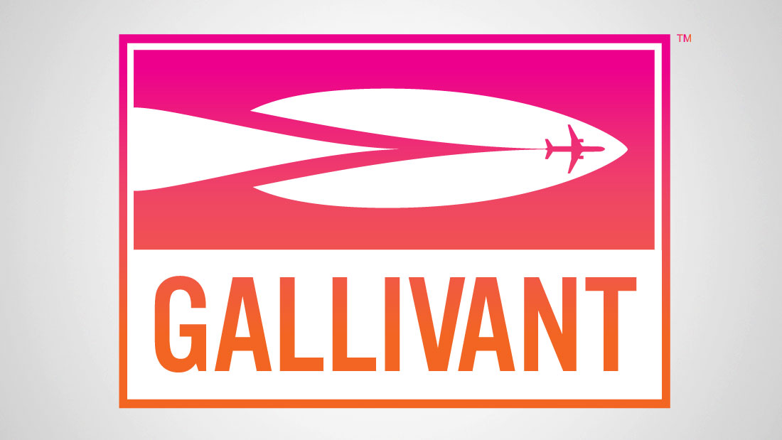 Gallivant Travel branding