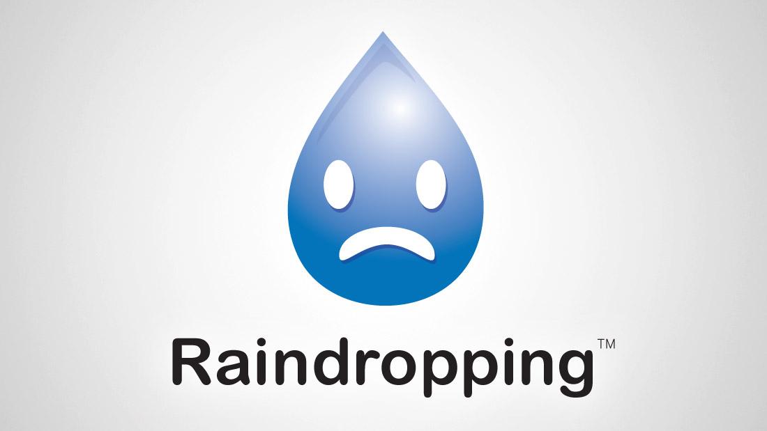Raindropping branding